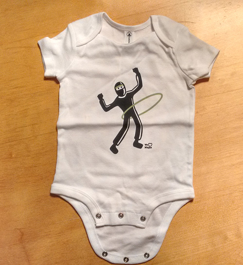 weheartninjas baby outfit